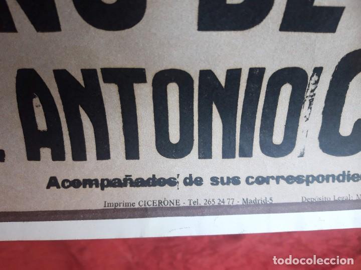 Carteles Toros: Cartel Plaza de toros de Madrid, 1983. Damaso Gonzalez, Niño de la capea, Jose A. Campuzano - Foto 7 - 199981618