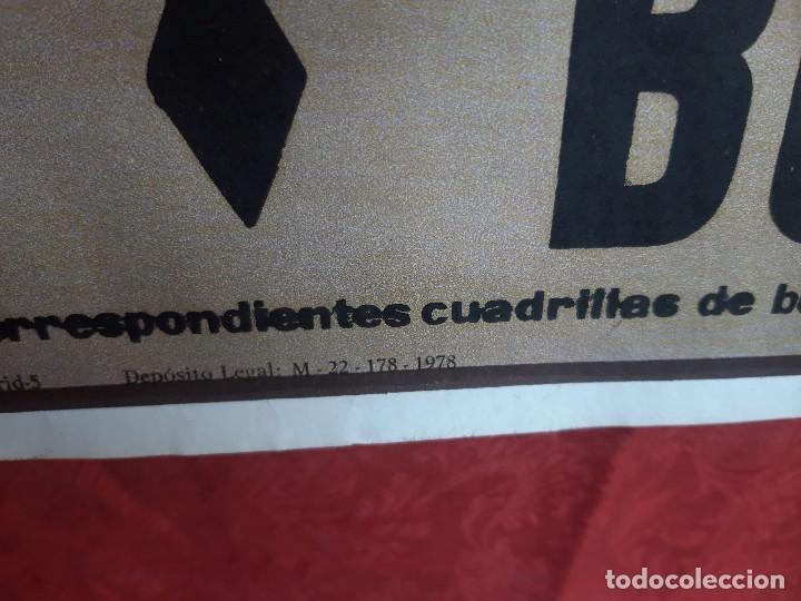 Carteles Toros: Cartel Plaza de toros de Madrid, 1983. - Foto 7 - 199981840