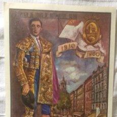 Carteles Toros: CARTEL DE TOROS BILBAO 1910-1960. Lote 200196032