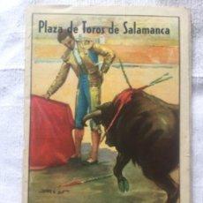 Carteles Toros: PLAZA DE TOROS DE SALAMANCA - FERIAS DE 1949 SEPTIEMBRE - 21X14CM 66P.. Lote 204247516
