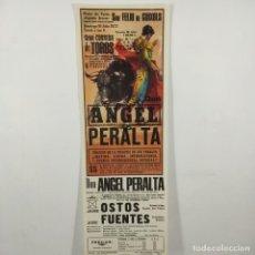 Carteles Toros: CARTEL - CORRIDA DE TOROS - SAN FELIU DE GUIXOLS - 1972 - 31,4X11CM - ANGEL PERALTA /TC-49.2-13. Lote 206862221