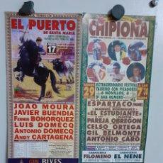 Carteles Toros: DOS CARTELES DE TOROS DEL AÑO 2000. Lote 209292182
