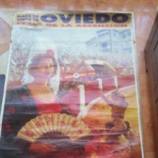 Affiches Tauromachie: GRAN CARTEL DE FERIA DE LA ASCENSION OVIEDO MAYO DE 1993,MIDE 1,40×70.(LEER DESCRIPCION). Lote 211987261