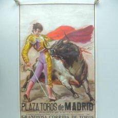 Affiches Tauromachie: CARTEL DE TOROS PLAZA DE TOROS MADRID - GRANDIOSA CORRIDA DE TOROS AÑO 1983. Lote 219382747