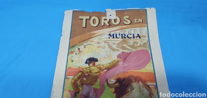 Carteles Toros: CARTELERA TAURINA - TOROS EN MURCIA- DOMINGO 8 DE JULIO 1928 CHICUELO/CAGANCHO Y GITANILLO TRIANA - Foto 2 - 225242686