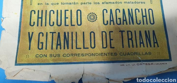Carteles Toros: CARTELERA TAURINA - TOROS EN MURCIA- DOMINGO 8 DE JULIO 1928 CHICUELO/CAGANCHO Y GITANILLO TRIANA - Foto 5 - 225242686