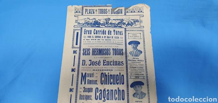 Carteles Toros: CARTELERA TAURINA - TOROS EN MURCIA- DOMINGO 8 DE JULIO 1928 CHICUELO/CAGANCHO Y GITANILLO TRIANA - Foto 7 - 225242686