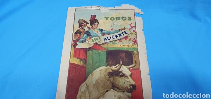 Carteles Toros: CARTELERA TAURINA-TOROS EN ALICANTE - CORRIDAS SAN PEDRO - 29 JUNIO Y 1 JULIO 1 - Foto 2 - 225243640