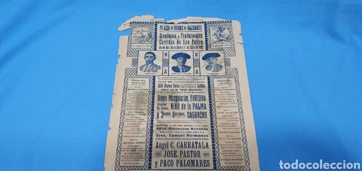 Carteles Toros: CARTELERA TAURINA-TOROS EN ALICANTE - CORRIDAS SAN PEDRO - 29 JUNIO Y 1 JULIO 1 - Foto 6 - 225243640