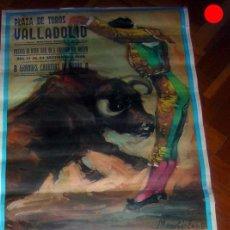 Carteles Toros: CARTEL DE TOROS FERIA DE VALLADOLID 1989. Lote 225885560