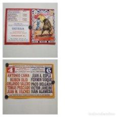 Affissi Tauromachia: LOTE CARTELES DE TOROS DE ARROYO DEL OJANCO. Lote 227669735