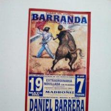 Affissi Tauromachia: LOTE CARTELES DE TOROS DE BARRANDA. Lote 227670245