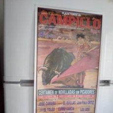 Affissi Tauromachia: LOTE CARTELES DE TOROS DE CAMPILLO. Lote 227672300