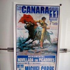 Affissi Tauromachia: LOTE CARTELES DE TOROS DE CANARA. Lote 227673060