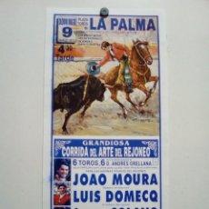 Affissi Tauromachia: LOTE CARTELES DE TOROS DE LA PALMA (MURCIA). Lote 227682580