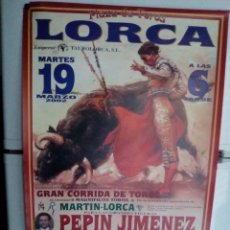 Affissi Tauromachia: LORCA. Lote 227686180