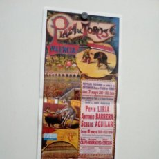 Affissi Tauromachia: LOTAZO CARTELES DE TOROS DE VALENCIA. Lote 227691920