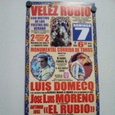 Affissi Tauromachia: VELEZ RUBIO. Lote 227692015