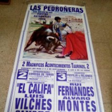 Affissi Tauromachia: LAS PEDROÑERAS. Lote 227693640