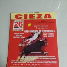 Carteles Toros: LOTE (NÚMERO 2) DE CIEZA, CARTELES DE MANO. Lote 228027710