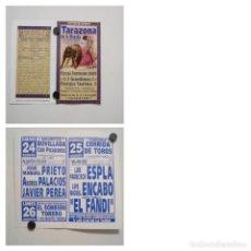 Affissi Tauromachia: CARTEL DE TOROS DE TARAZONA DE LA MANCHA,AÑO 2002. Lote 228881420