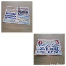 Affissi Tauromachia: CARTEL DE TOROS DE YECLA, AÑO 2010. Lote 228956300