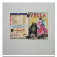 Affissi Tauromachia: CARTEL DE TOROS DE YECLA, AÑO 2002. Lote 229214360
