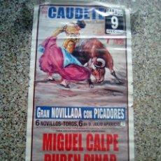 Affiches Tauromachie: CARTEL DE TOROS DE CAUDETE DE ESCAPARTE, AÑO 2007. Lote 229655990