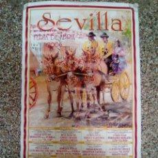 Affissi Tauromachia: CARTEL DE TOROS DE SEVILLA DE ESCAPARATE, AÑO 2006. Lote 230679365