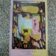Affiches Tauromachie: CARTEL DE TOROS DE ESCAPARATE DE NIMES (FRANCIA), AÑO 2006. Lote 230878125