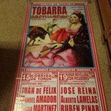 Affissi Tauromachia: CARTEL DE TOROS DE TOBARRA DE MURAL ,AÑO 2006. Lote 231834540