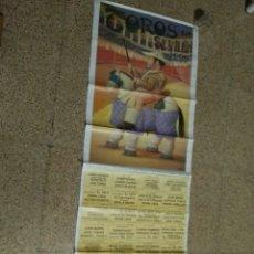 Affissi Tauromachia: CARTEL DE TOROS DE SEVILLA DE MURAL, AÑO 1999. Lote 232329060