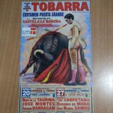 Affiches Tauromachie: CARTEL DE TOROS DE TOBARRA. Lote 232918060