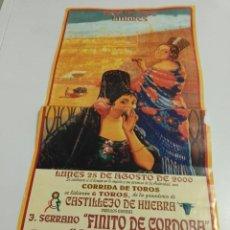 Affiches Tauromachie: CARTEL DE TOROS DE LINARES DE MANO XL, AÑO 2003. Lote 232938110