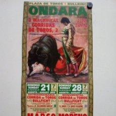 Affiches Tauromachie: CARTEL DE TOROS DE ONDARA DE MANO, AÑO 2005. Lote 235511420