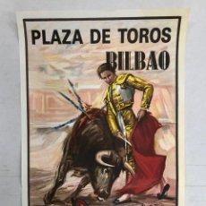 Affissi Tauromachia: CARTEL PLAZA DE TOROS BILBAO. 12 DE MAYO DE 1991. Lote 235899125
