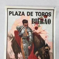 Affissi Tauromachia: CARTEL PLAZA DE TOROS BILBAO. 28 DE ABRIL DE 1991. Lote 235899550