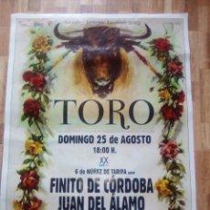 Carteles Toros: CARTEL TOROS, LOCALIDAD TORO, ZAMORA.. Lote 237578495