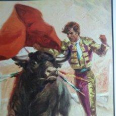 Carteles Toros: LITOGRAFÍA EN CARTULINA CARTEL DE TOROS GRAN CALIDAD SIN IMPRIMIR N 234. Lote 255663240