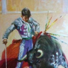Carteles Toros: LITOGRAFÍA EN CARTULINA CARTEL DE TOROS GRAN CALIDAD SIN IMPRIMIR N 236. Lote 255663080