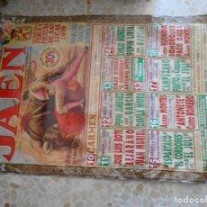 Cartazes Touros: CARTEL DE TOROS DE JAEN. Lote 243247010
