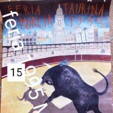 Carteles Toros: CARTEL DE TOROS FERIA DE MURCIA 1995 SEPTIEMBRE. Lote 246571440