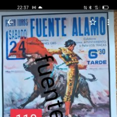Carteles Toros: 1996 CARTEL DE TOROS DE FUENTE ÁLAMO. Lote 246588145