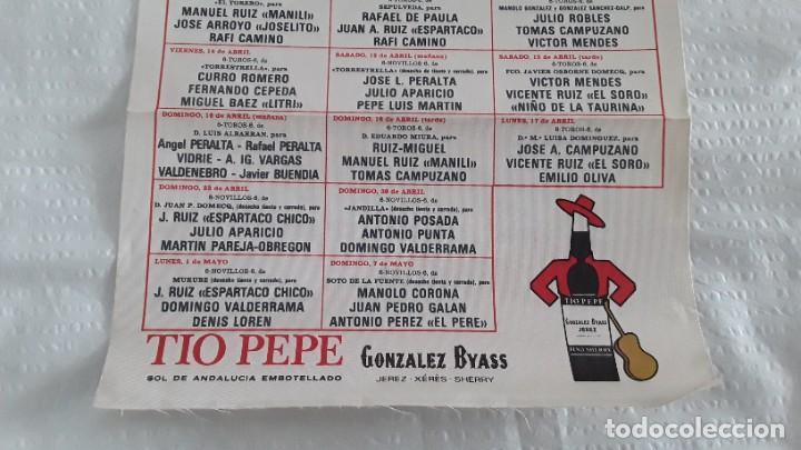 Carteles Toros: Cartel de toros Sevilla 1989 - Foto 2 - 246591850
