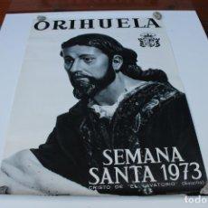 Carteles Toros: CARTEL SEMANA SANTA ORIHUELA 1973,. Lote 246671870