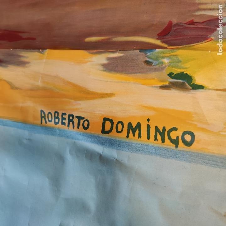 Carteles Toros: Enorme cartel taurino de Joselito con 236 cm de largo y 112 cm de ancho. P. de toros de Madrid. - Foto 11 - 253799805