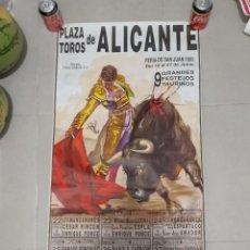 Carteles Toros: CARTEL TOROS ALICANTE. Lote 268579239