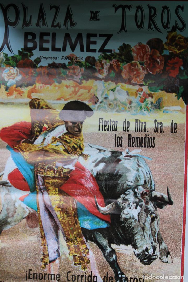 Carteles Toros: cartel de toros plaza cordoba, 1988, original - Foto 2 - 276109848