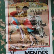 Carteles Toros: CARTEL DE TOROS PLAZA CORDOBA, 1988, ORIGINAL. Lote 276109848