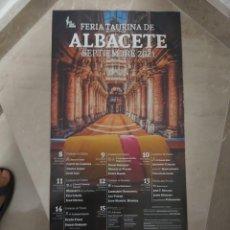 Carteles Toros: CARTEL DE TOROS ALBACETE FERIA 2021. Lote 288178228